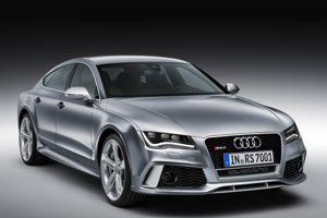 L'Audi RS7.