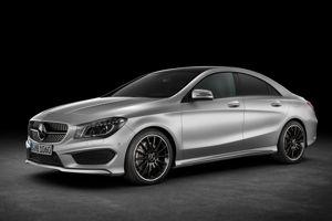 La Mercedes CLA.