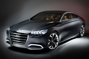 La Hyundai HCD-14 Genesis.