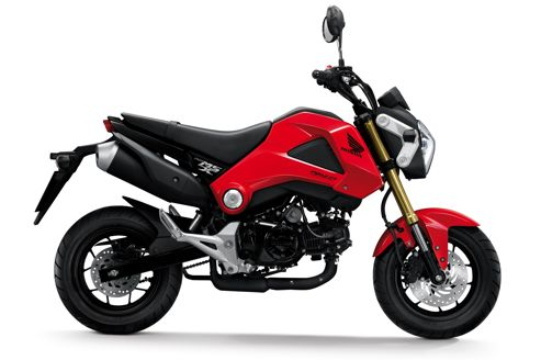 honda msx 125 le retour de la mini moto. Black Bedroom Furniture Sets. Home Design Ideas