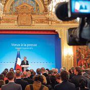 Hollande et la presse: «proche» et «distant»