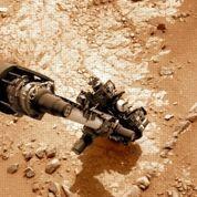 Curiosity va forer une roche martienne