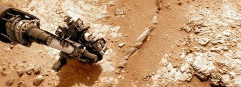 Curiosity va forer sa première roche martienne