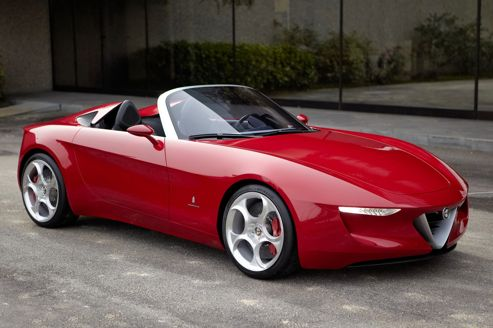 Mazda MX-5 et Alfa Spider:l'accord est signé