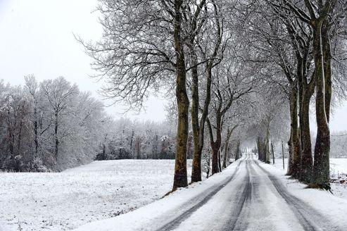 Il neige sur Paris depuis vendredi soir.