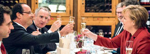 Le couple Hollande-Merkel s'apprivoise