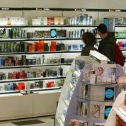 Parfums: le marché s'érode