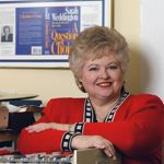 Sarah Weddington dans son bureau, à Austin, en 2003.