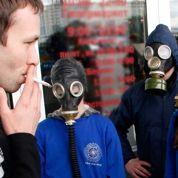 Lois anti-tabac : moins d 'asthme chez les petits