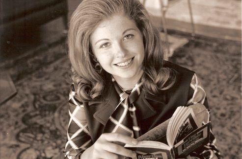 Sarah Weddington, alors qu'elle se prépare à plaider le cas devant la Cour suprême, au début des années 1970.  Crédits photo: Weddington Center