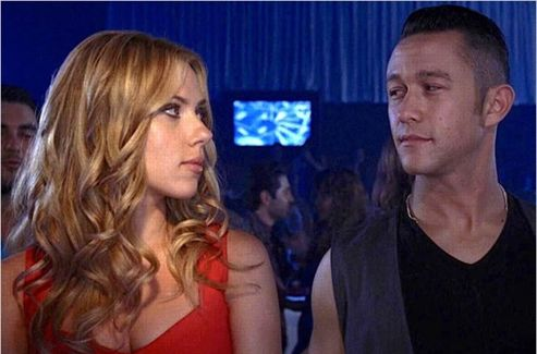 Scarlett Johansson et Joseph Gordon-Levitt dans  Don Jon's Addiction .