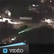 USA : arrêté après avoir visé un hélico au laser