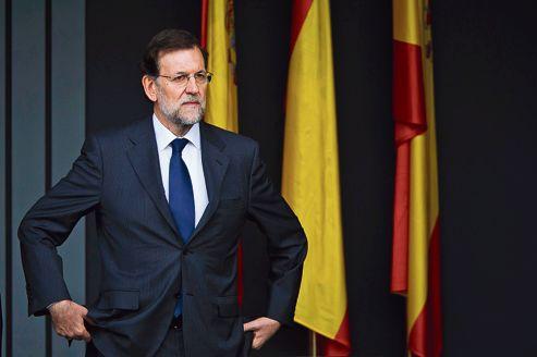 Mariano Rajoy, le 12 octobre à Madrid.