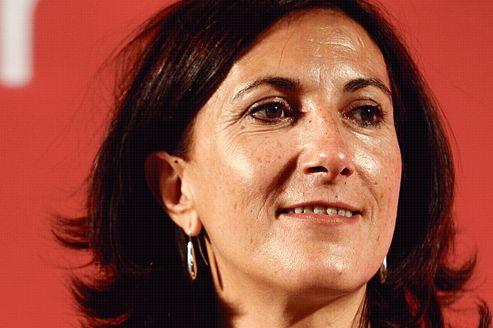 Sandrine Mazetier, députée PS de la 8e circonscription de Paris.