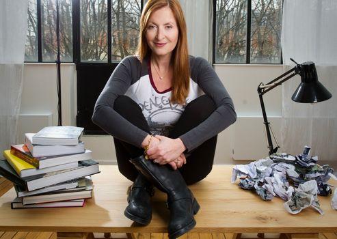 Sandra Mulliez, collectionneuse et mécène d'art contemporain.