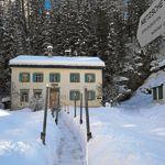 La maison de Sils-Maria danslaquelle vécut Nietzsche de 1881 à1888.