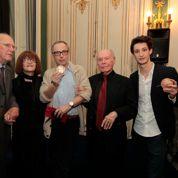 Pierre Niney et Luchini, prix Plaisir du théâtre
