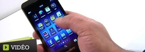 Le BlackBerry Z10, «capable de se mesurer à l'iPhone»