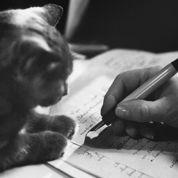 Chiens et chats, les amis des écrivains