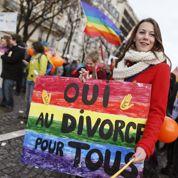 Les homos pourront aussi divorcer