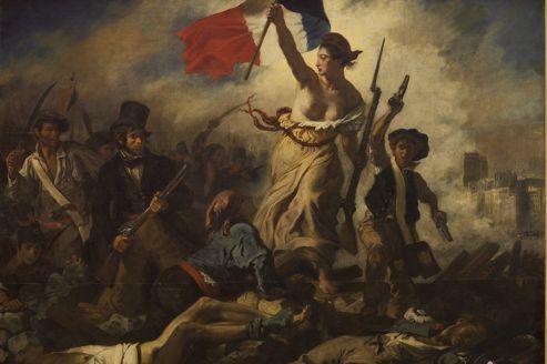 <i>La Liberté guidant le peuple, </i>d'Eugène Delacroix.<i></i>