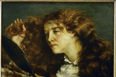 Le visage de Jo, «la belle Irlandaise», peinte par Courbet en 1865. Est-ce le même que celui qui orne le tableau d'un passionné d'art qui pense aujourd'hui détenir le visage de <i>L'Origine du Monde</i>?
