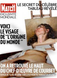 Dans le magazine, un passionné d'art dit avoir acquis l'autre partie de  L'Origine du Monde . (Philippe Petit)