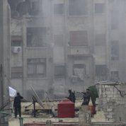 L'armée d'Assad à l'offensive à Damas