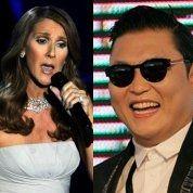 Psy et Dion en Chine pour le Nouvel An