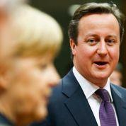 Cameron et Merkel mettent l'UE au régime