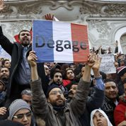 Manifestation anti-française à Tunis