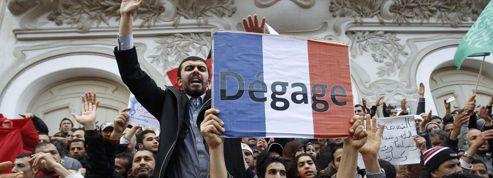 Manifestation pro-islamiste<br/>et anti-française à Tunis