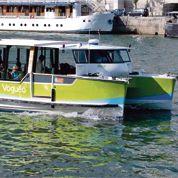 Le «vaporetto» parisien Voguéo fait naufrage