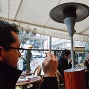 Terrasses parisiennes: encore le chauffage au gaz