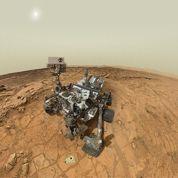Mars : le forage de Curiosity en images