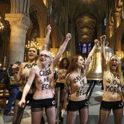 Le happening des Femen très critiqué