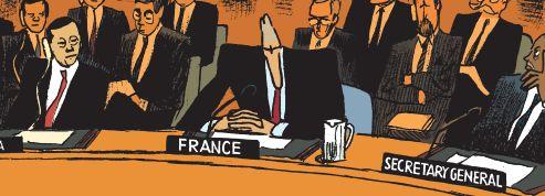 Villepin : l'histoire de son discours à l'ONU en BD