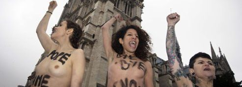Les Femen, peu inquiétées après leur interpellation