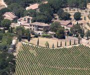 Le domaine de Miraval compte entre 50 et 60 hectares de vignes.