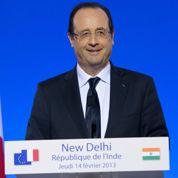 L'Inde découvre Hollande «l'amical»