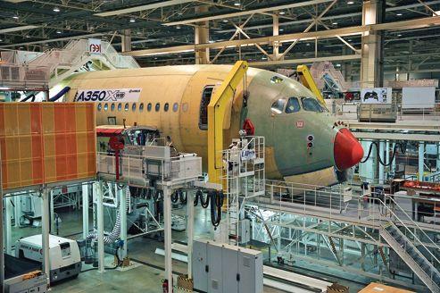 L'Airbus A 350 aura des batteries classiques