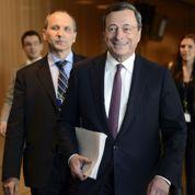 Draghi: «L'appréciation de l'euro est un risque»