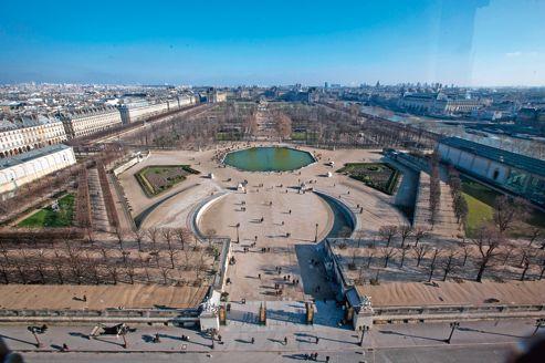 Le jardin des Tuileries prépare sa revégétalisation