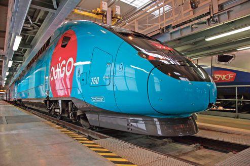 Dépourvue de première classe et de voiture-bar, une rame Ouigo pourra embarquer 1200 voyageurs, 20% de plus qu'un TGV classique.