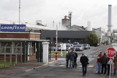 L'usine Goodyear d'Amiens est au centre de la discorde.