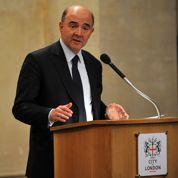 À Londres, Moscovici défend la France