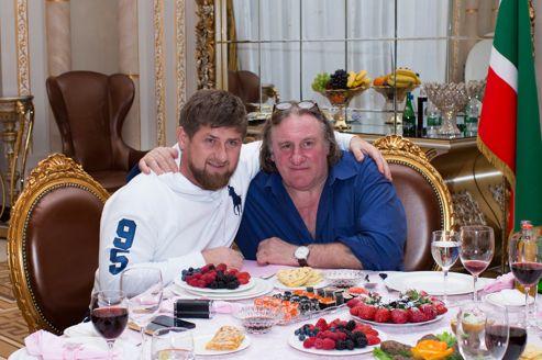 Depardieu veut faire un film sur la Tchétchénie