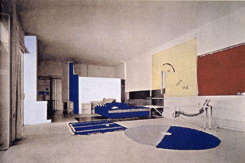 La villa E 1027 d'Eileen Gray et Jean Badovici.