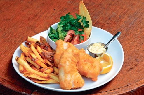 véritable fish and chips