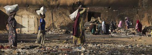 Mali: les combats ont dévasté le marché central de Gao